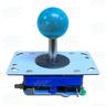 Blue Ball Top Joystick for Arcade Machine (Zippy Styled)