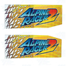 Alpine Racer 2 Cabinet Sticker Kit