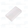 Button Covers Clear - Rectangular