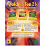 Golden Tee 2K Cabinet Game Board And Parts