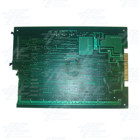 Unknown PCB - Broken / Damaged - Back View