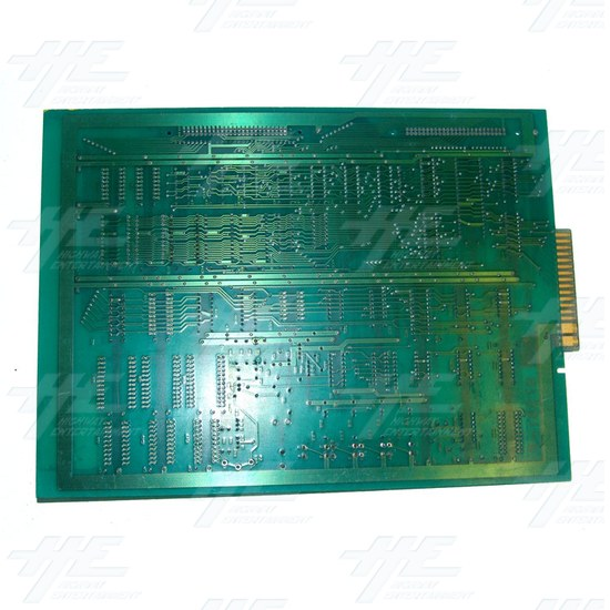 Unknown Arcade PCB - Back View