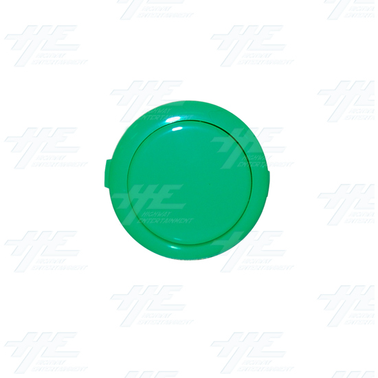 Sanwa Button OBSF-30 Green - Front View