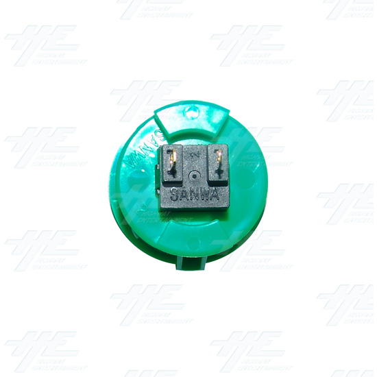 Sanwa Button OBSF-30 Green - Bottom View