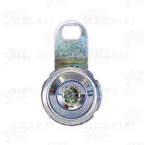 Solid Metal Door Key Security Lock - Front View