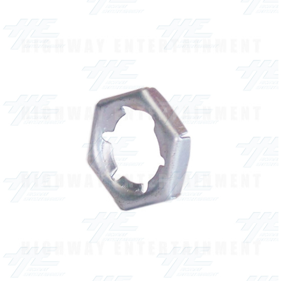 Metal Nut - Angle View