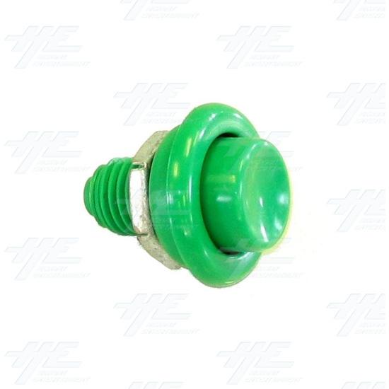 Pushbutton for Pinball Machine - Green - Full View