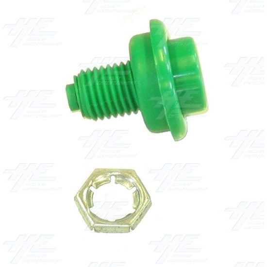 Pushbutton for Pinball Machine - Green - Full Kit