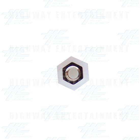 Spacer M3x7 Hex with Stud - Top View