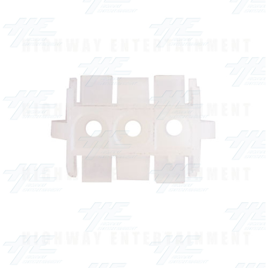 TYCO ELECTRONICS / AMP Universal Receptacle 3 Way, Mate N Lok Plug - 350767-1 - Top View