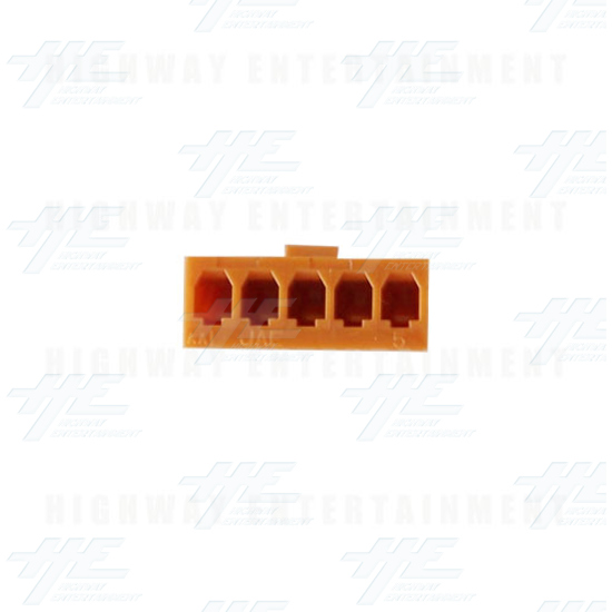 5 Pin Connector - Bottom View