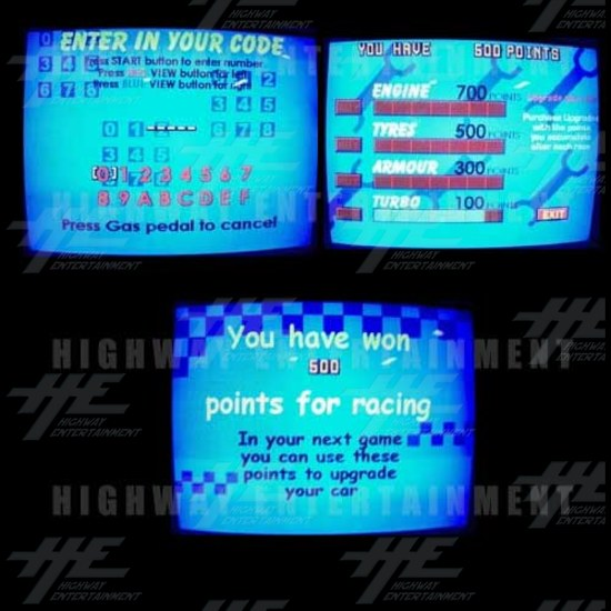 Daytona GTX 2004 Upgrade Kit for Daytona USA - Screen shots