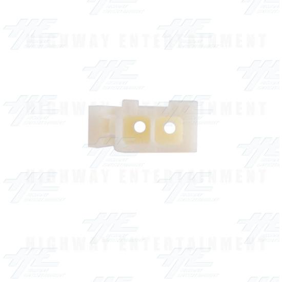 TYCO ELECTRONICS Universal Plug Housing, 2 Way Mate N Lok Plug - 172165-1 - Top View