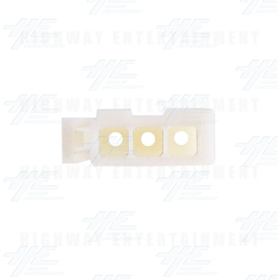 TYCO ELECTRONICS Universal Plug Housing, 3 Way Mate N Lok Plug - 172166-1 - Top View
