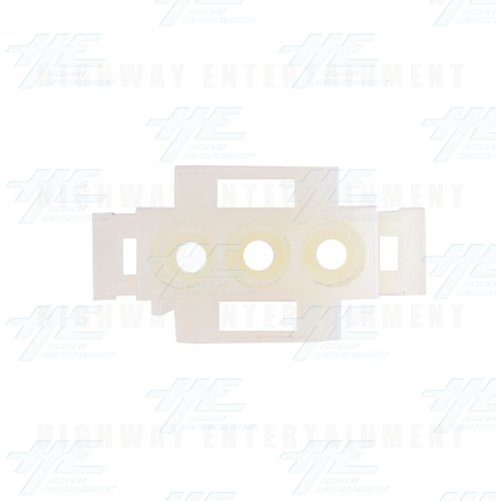 TYCO ELECTRONICS / AMP Universal Plug Housing 3 Way, Mate N Lok Plug - 350766-1 - Top View