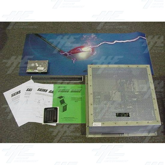 Midway Skins Full Factory Arcade Kit (new) - Kit Contents