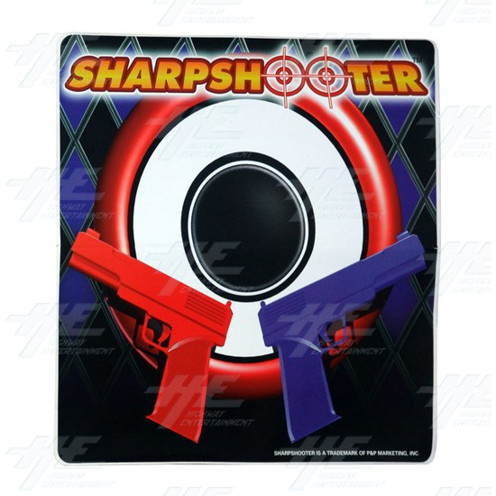 Sharpshooter Cabinet Sticker -