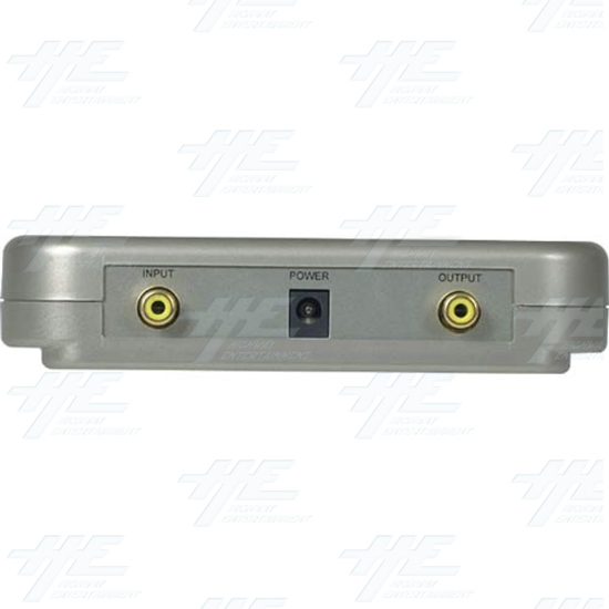 NTSC / PAL Universal Digital Video Format Converter / Convertor (CDM-630) - Back Panel