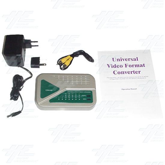 NTSC / PAL Universal Digital Video Format Converter / Convertor (CDM-630) - Full Kit