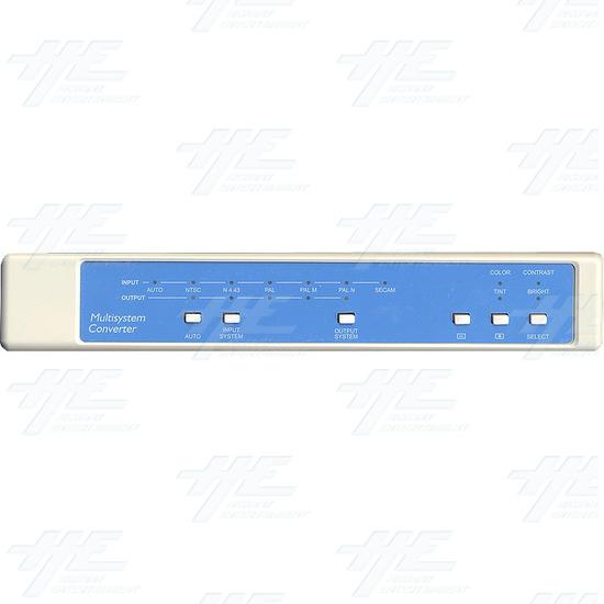 NTSC / PAL Digital Multisystem Converter / Convertor (CDM-640A) - Front Panel