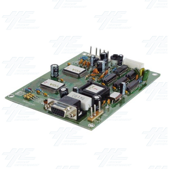 CGA (15k) to VGA (31k) Converter - Full View