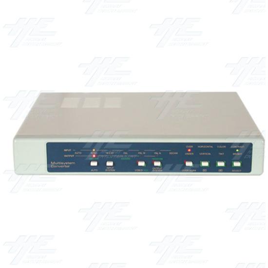 NTSC / PAL / VGA Digital Multisystem Converter / Convertor (CDM-640) - Front View