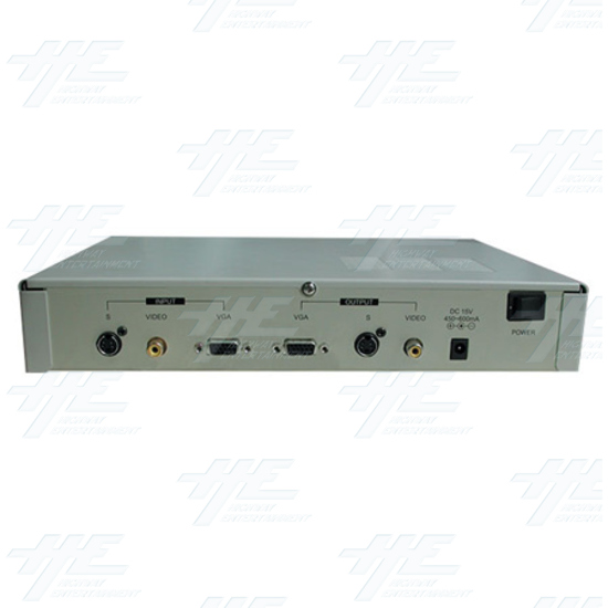 NTSC / PAL / VGA Digital Multisystem Converter / Convertor (CDM-640) - Back View