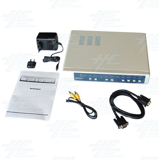 NTSC / PAL / VGA Digital Multisystem Converter / Convertor (CDM-640) - Full Kit