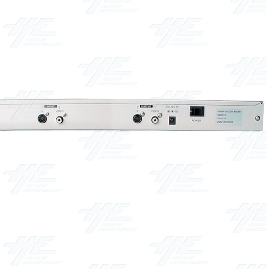 Multi System Digital Converter with 19inch Rack(CDM-640AR) - Back View