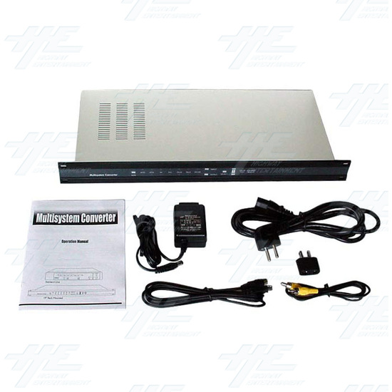 Multi System Digital Converter with 19inch Rack(CDM-640AR) - Full Kit