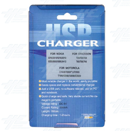 USB Charger 3 In 1 - Packaging -Back