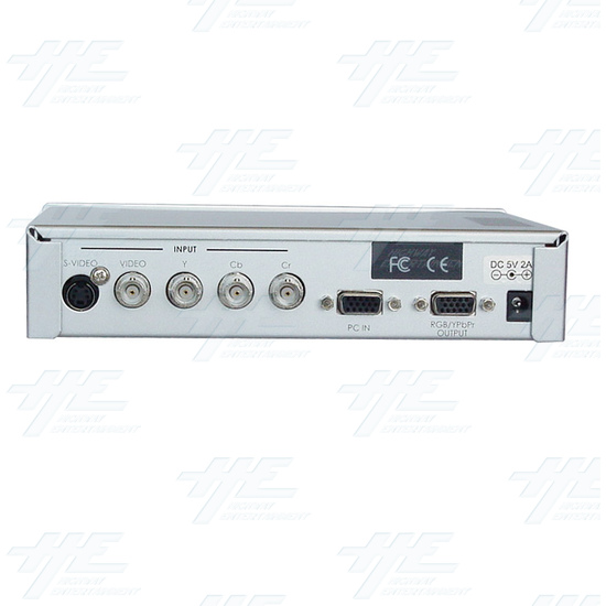 Magic View Video Scaler/Deinterlacer (CSC-200) - Back