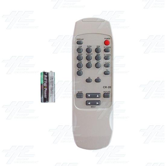 Magic View Video Scaler/Deinterlacer (CSC-200) - Remote control