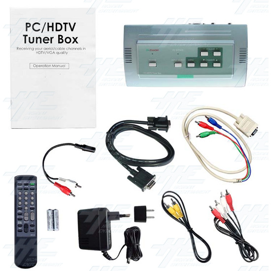 PC/ HDTV Tuner Box (CSC-1200T) - Full kit