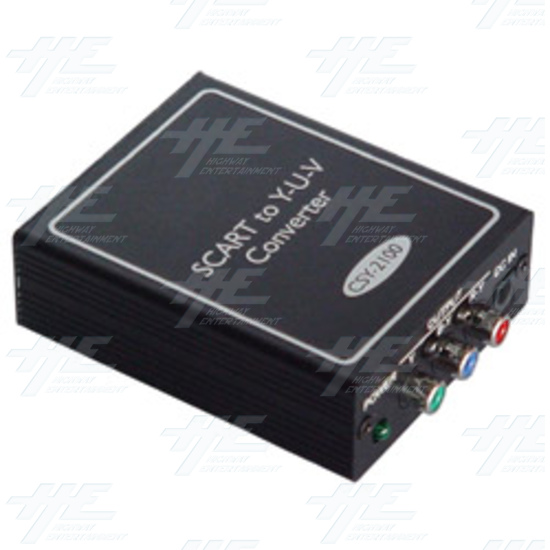 SCART to Y-U-V Converter (CSY-2100) - Full view