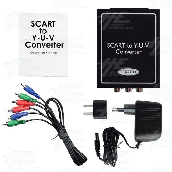 SCART to Y-U-V Converter (CSY-2100) - Full kit