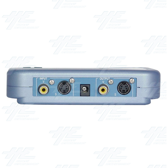 Time Base Corrector (CTB-100) - Back view