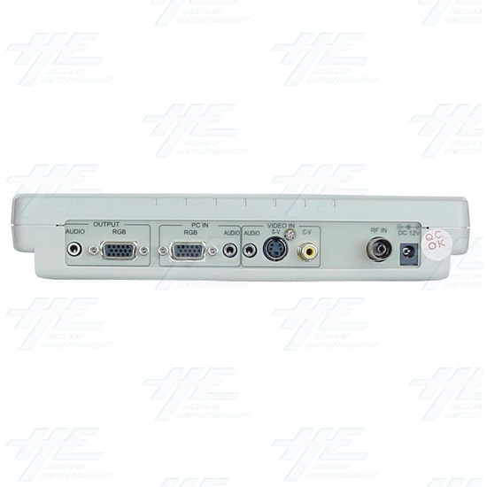 TV/ Video to VGA Tuner Box (CM-331T) - Back view