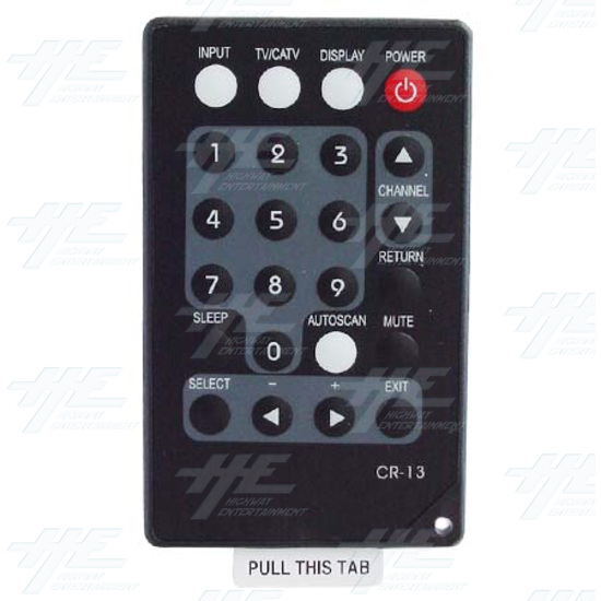 TV/ Video to VGA Tuner Box (CM-331T) - Remote