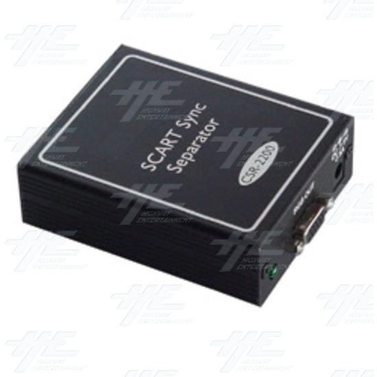 SCART Sync Separator (CSR-2200) - Full view