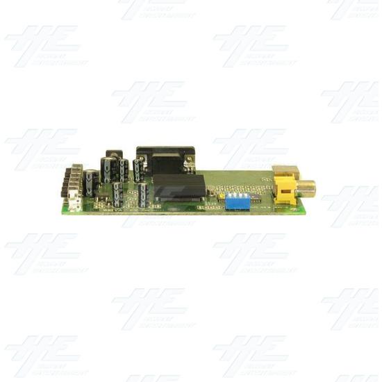 VGA to CGA - RGB Converter - Side view 2