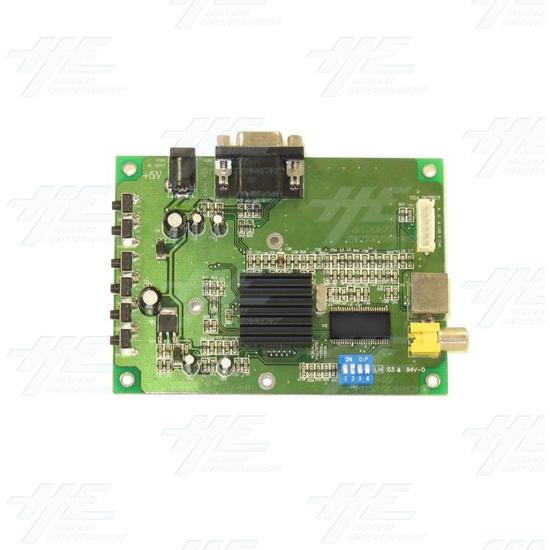 VGA to CGA - RGB Converter - Top view