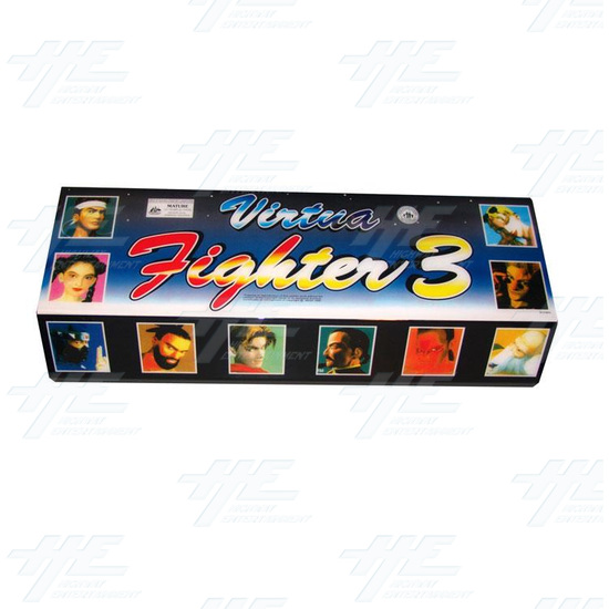 Virtua Fighter 3 (Large Hard Header) (New) -