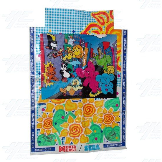 Stamp Club Cabinet Sticker -