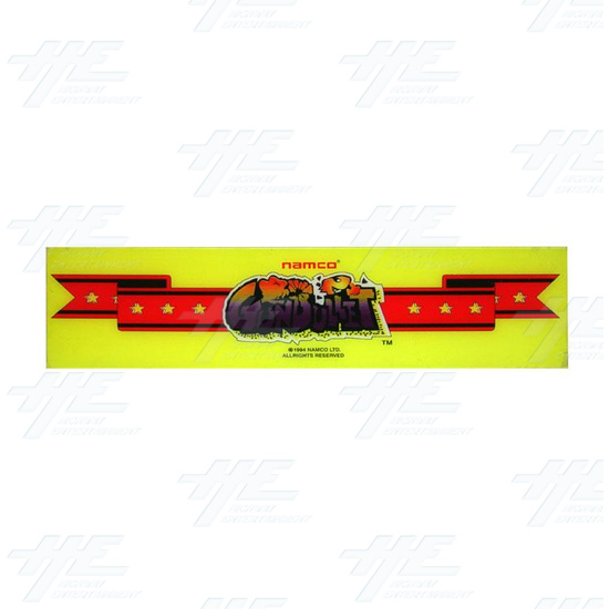 Point Blank / Gun Bullet Plastic Hard Header - Point Blank Header