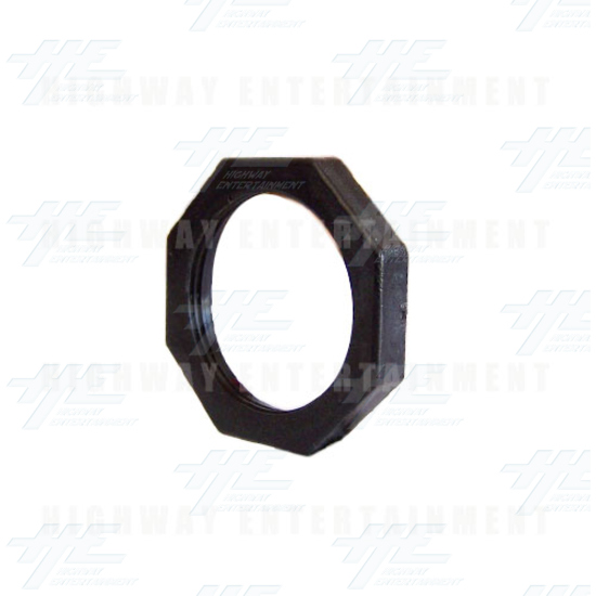 Button Nut for 28mm Dummy Buttons - Angle View