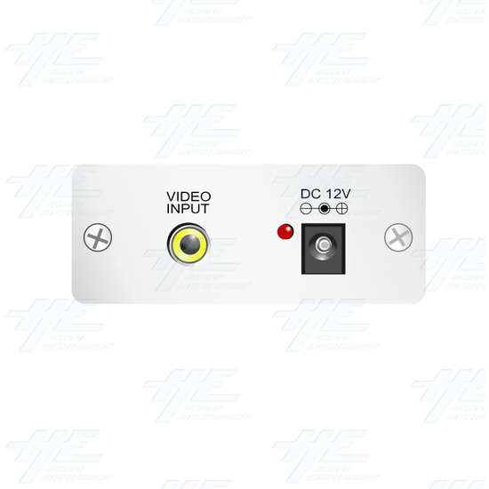 PAL or NTSC Video to PAL or NTSC Video Digital Converter (12v Car Model) - Side View 1