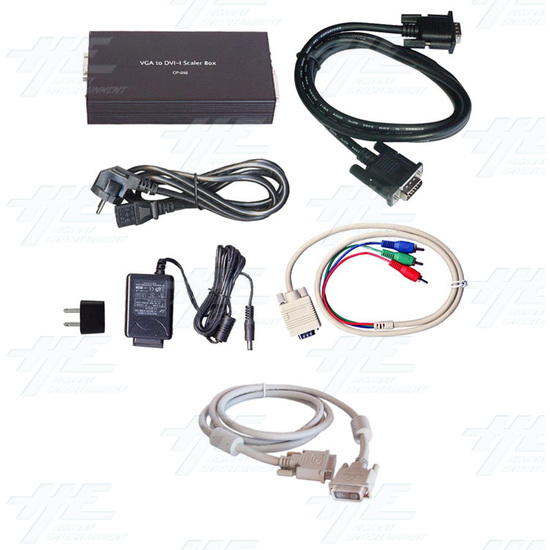 VGA to DVI Scaler Box - Full Kit