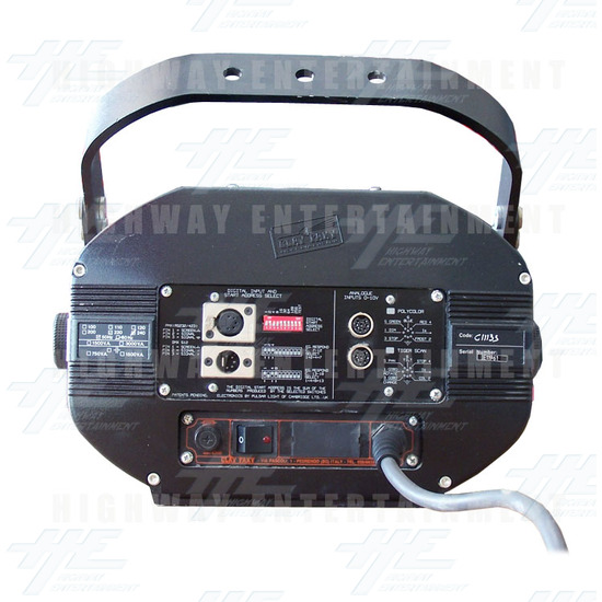 Tiger Scan HMI 1200 Light - Back View