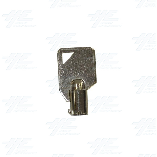 Cam Door Lock 15mm - With Latch (Made in Taiwan) - Key